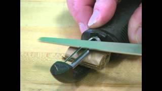 DMT Veggie Peeler Sharpening