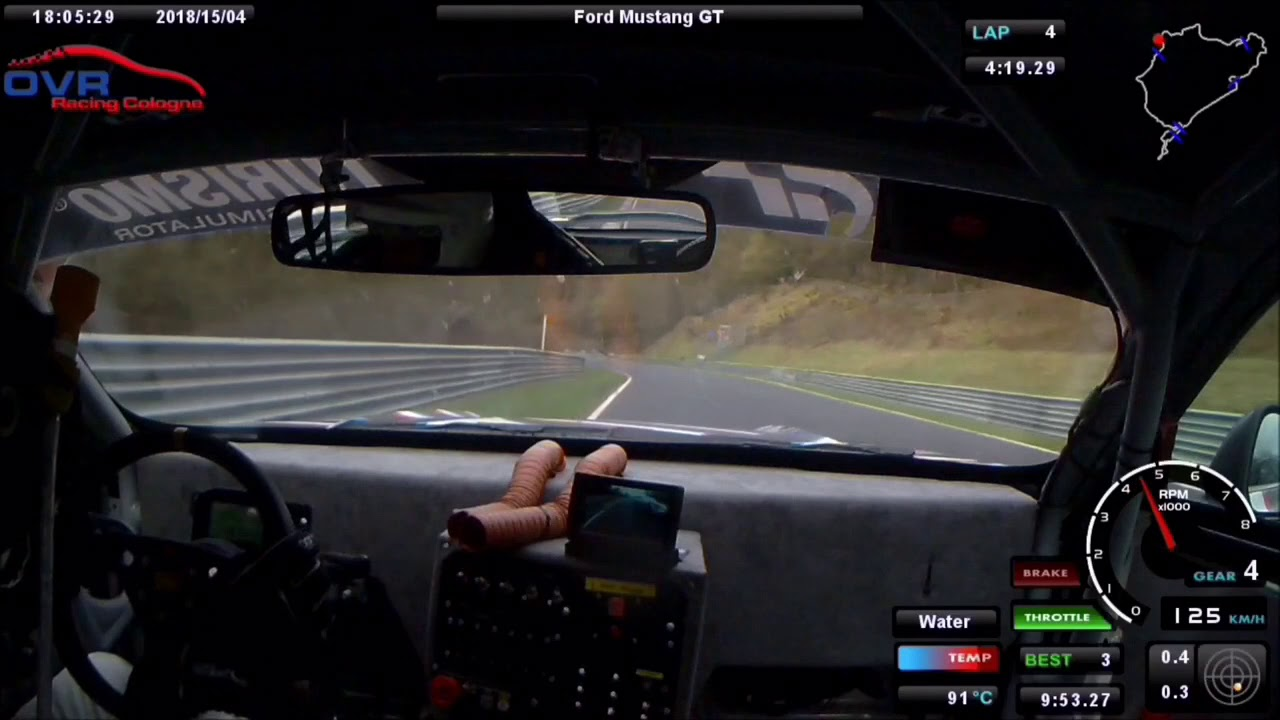 24h quali 2018 onboard ford mustang gt nürburgring nordschleife