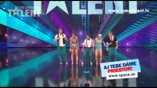 Credance   Česko Slovensko má talent 2012