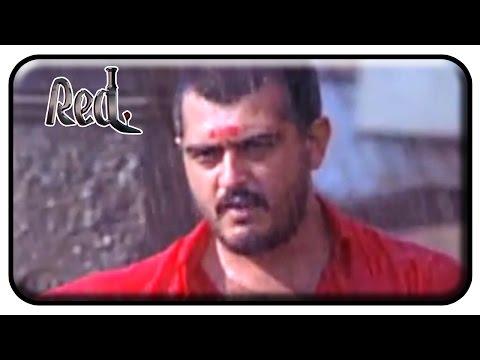 Red Tamil Movie | Scenes | Ajith dynamic entry as Red | Priya Gill | Raghuvaran | Deva