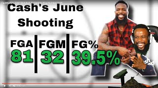 I STOLE JUNE FROM FLIGHT?! Cash June Shooting Chart! W & L's Record!