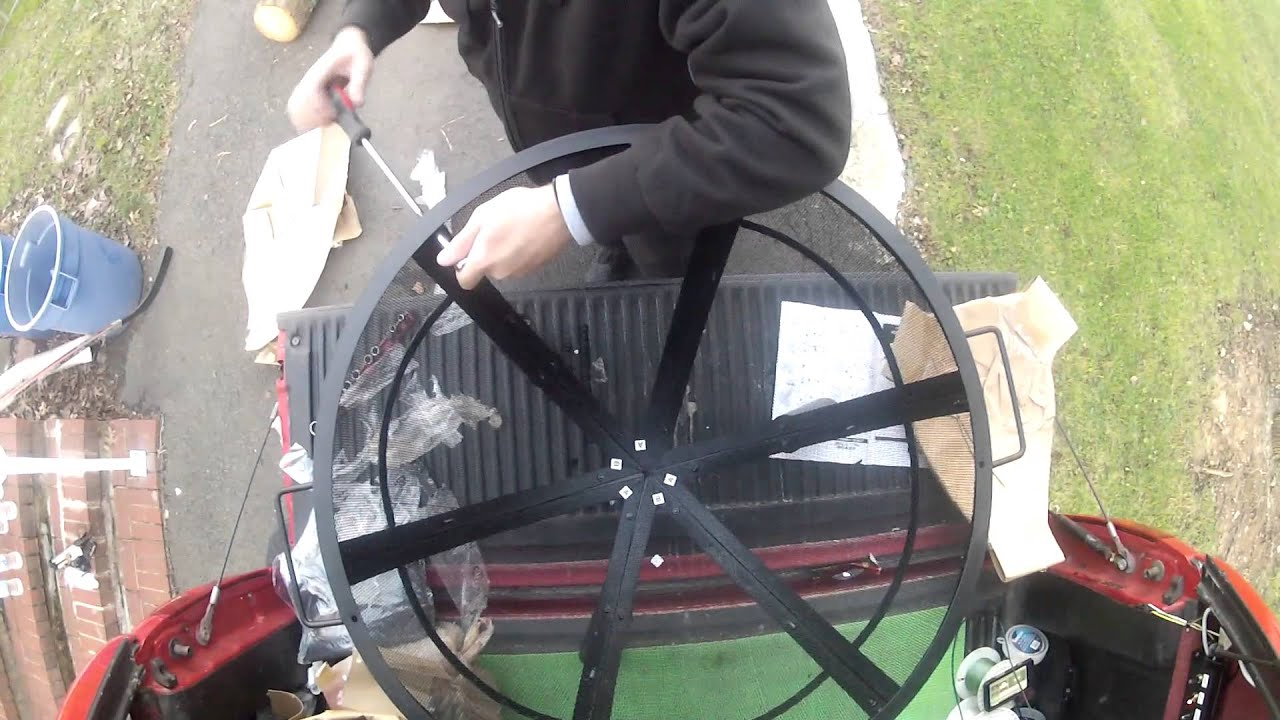 landmann sphere fire pit assembly