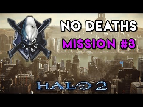 Halo 2 LEGENDARY NO DEATHS Walkthrough ► Mission #3 Metropolis