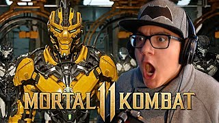 Mortal Kombat 11 - Official Launch Trailer REACTION!