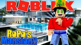 ROBLOX - ROPO BUYS A MANSION CON TUTTI i suoi YOUTUBE MONEY!!!