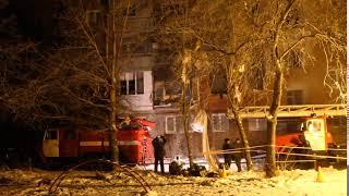 Последствия взрыва газа в Омске - 12.01.2018