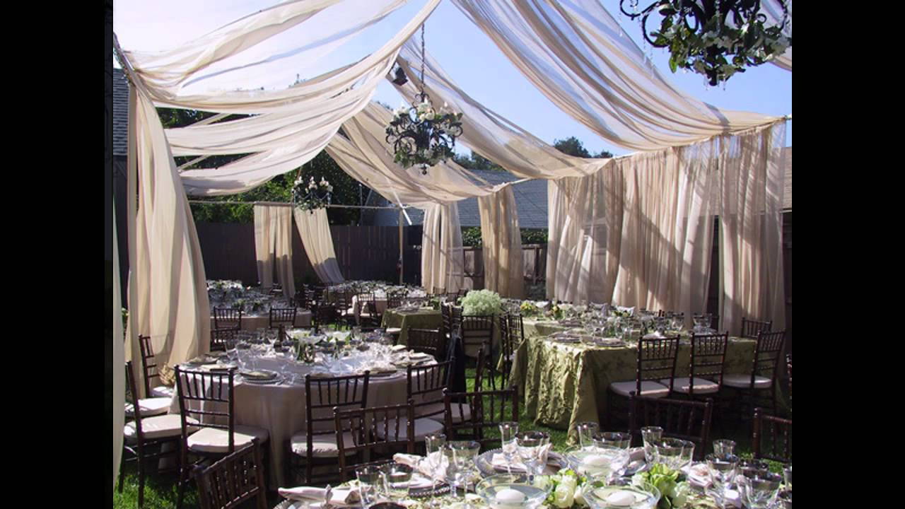 Best Small Garden Wedding Decorations YouTube