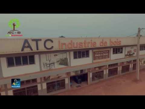 Présentation de l'industrie du bois du Groupe ATC. Bénin, Afrique de l'Ouest