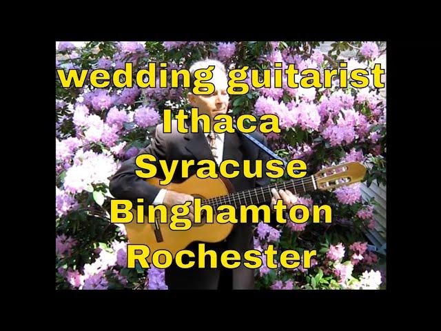 wedding guitarist | Ithaca Rochester Syracuse Binghamton NY