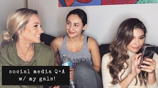 Social Media Q+A w/ Francia Raisa and Cathy Kelley