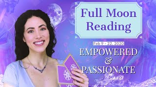 Full Super Moon Reading | Feb. 9 - 22, 2020 | Sarah Hall ☽♥☾