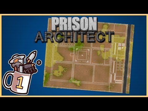 Only 1 Guard For Every 10 Prisoners Supermax | Prison Architect #1 - Let's Play / Gameplay