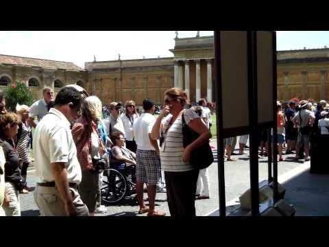 Cortile del Belvedere at the Vatican, Rome
