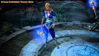 Path of Exile - Steam-powered Wand Skin