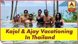 Gambar cover Happy New Year 2019: Kajol & Ajay Devgn Celebrate In Thailand With Son Yug & Daughter Nysa