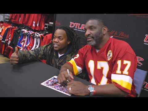 DTLR   Former Redskins Super Bowl MVP QB Doug Williams visits fans at Annapolis Mall