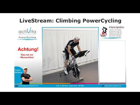 actiLiveStream #299 - PowerCycling (bergig) mit Torben (Mo. 20:00Uhr)