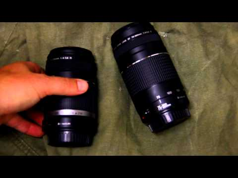 Canon EF 75-300mm f/4.0-5.6 III vs EF-S 55-250mm f/4-5.6 IS lens review