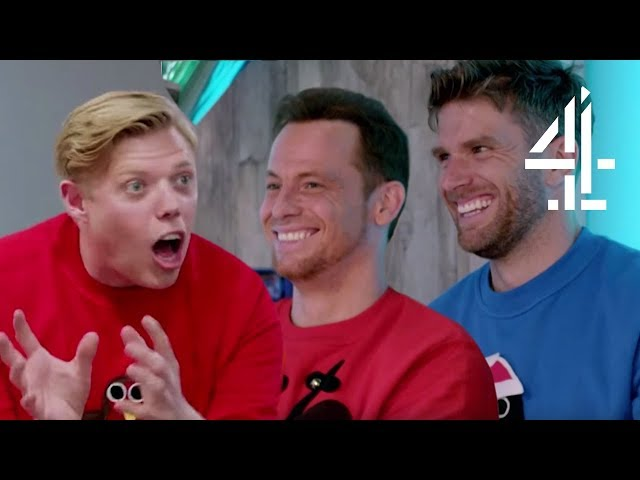Rob Beckett & Joe Swash CHEAT During Challenge?! | Lego Masters Christmas Special