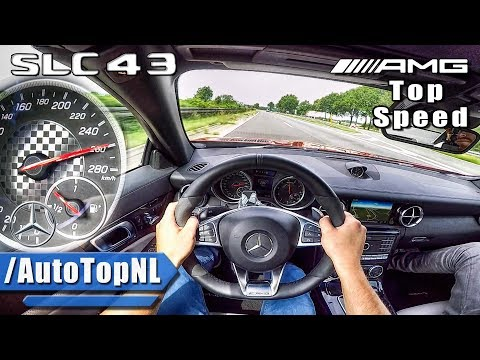 Mercedes SLC 43 AMG AUTOBAHN POV ACCELERATION & TOP SPEED by AutoTopNL