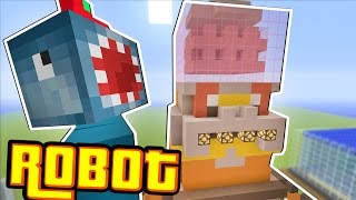 Minecraft Xbox - ROBOT!! - Building Time! [#61]