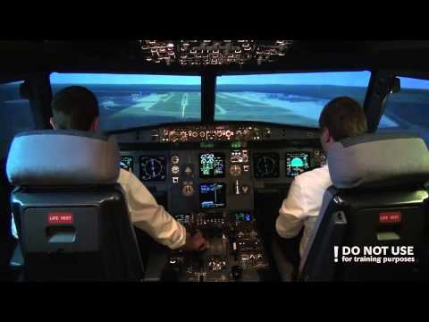 CPL students in A320: flight control failure - Baltic Aviation Academy