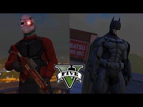 Batman VS Deadshot ! Gotham Most Wanted (GTA 5 Batman Movie)