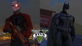Batman VS Deadshot ! Gotham Most Wanted (GTA 5 Batman Movie)