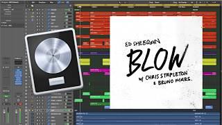 Ed Sheeran - BLOW (with Chris Stapleton & Bruno Mars) (Logic X remake prod. by Insight) Video