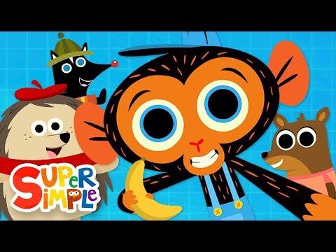 Mr Monkey, Monkey Mechanic Cartoon Collection | Porcupine, Elephant, & More!