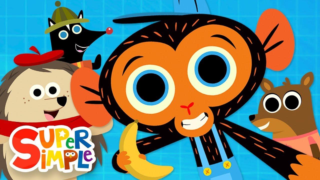 Mr Monkey, Monkey Mechanic Cartoon Collection   Porcupine, Elephant, & More!