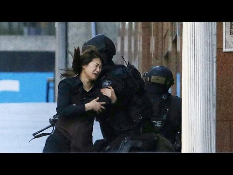 Sydney Siege: Five Hostages Flee Cafe