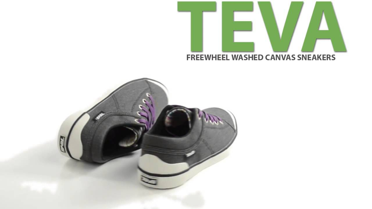 c3dc9fc22811 Teva Freewheel Washed Canvas Sneakers (For Women) - YouTube