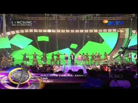 WALI BAND Feat ZASKIA GOTIX & FITRI CARLINA [Yank] Live At SCTV Music Awards 2014 (17-04-2014)