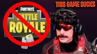 DrDisrespect *RAGES* & Says How Much He Hates Fortnite! - Fortnite Best and Funny Moments