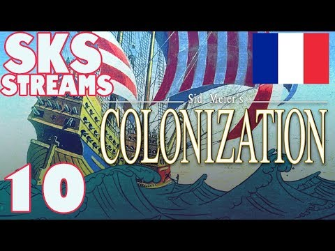 Sid Meier's Colonization   SKS Streams   Part 10   Pre Independence Party