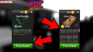 *NEW* MYTHIC IN THE ELITE CASE AND OAK BUNDLE! *CAME OUT TODAY* (ROBLOX ASSASSIN SUMMER UPDATE)