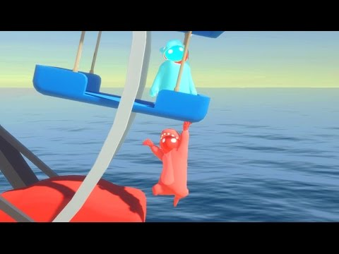 HOLD ON FOR DEAR LIFE! | Gang Beasts