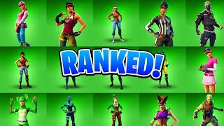 TOP 10 BEST UNCOMMON FORTNITE SKINS EVER! (Ranking All Fortnite Skins)