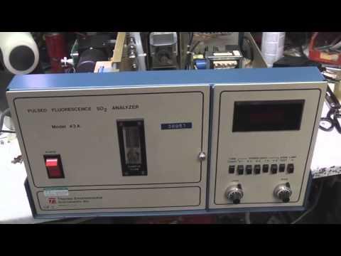 Gas analyser teardown