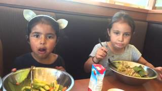 Salad Eating Contest | The Soleilangelina