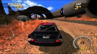 [PSP] FlatOut: Head On - Gameplay