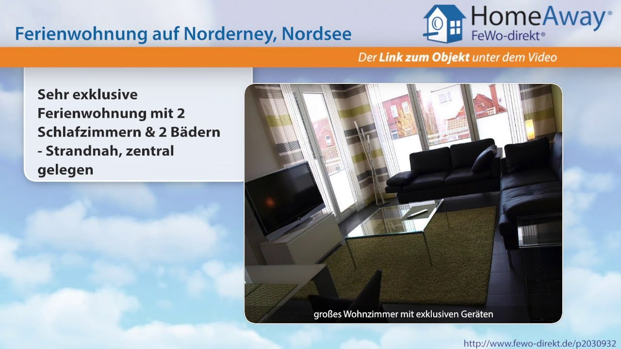 Norderney ferienwohnung 2 schlafzimmer  Norderney: Sehr exklusive Ferienwohnung mit 2 Schlafzimmern & 2 ...