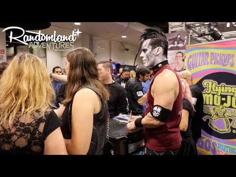 Rock Stars and Basement Weirdness at the NAMM SHOW 2018 Mp3