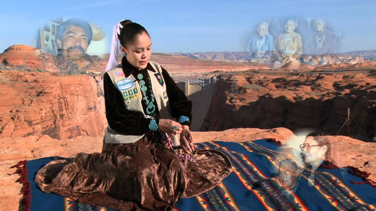 Pretty navajo lady