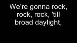 bill haley   rock around the clock lyrics