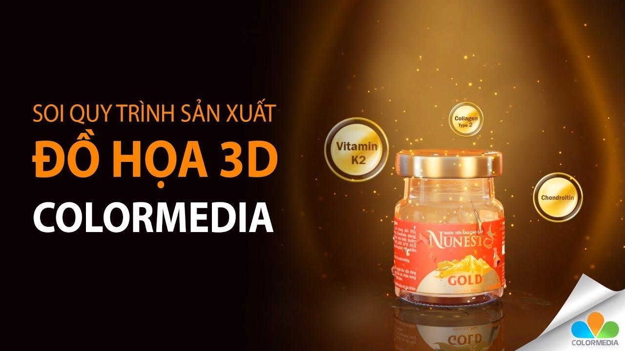 Quy trình sản xuất đồ họa 3D trong phim doanh nghiệp, TVC quảng cáo của ColorMedia