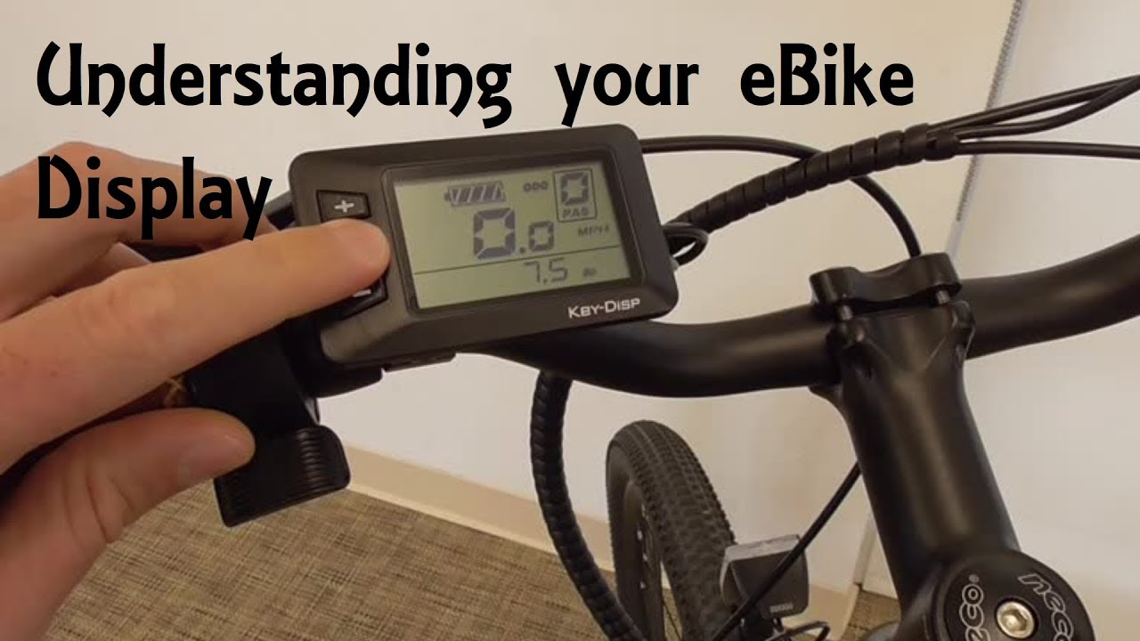 Electric Bike LCD Display Guide | Ride1UP 500 series by Ride1UP
