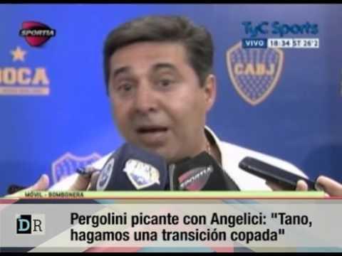 Pergolini le respondió a Angelici