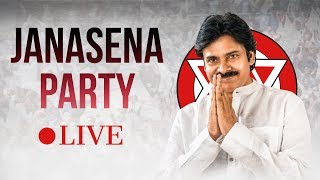New Joinings in Party from East Godavari| Live from JanaSena Party Central Office, Hyderabad